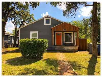 Dallas TX Single Family Home For Sale: $190,000