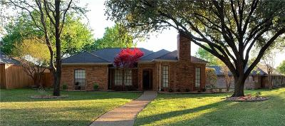 Rockwall Single Family Home For Sale: 1445 Meandering Way
