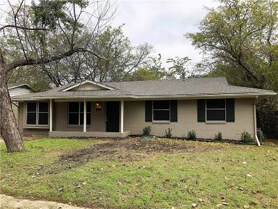 Arlington Single Family Home Active Option Contract: 427 Darlene Lane