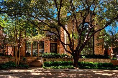 Dallas TX Single Family Home For Sale: $1,375,000