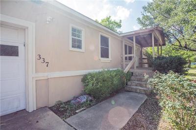 Roanoke Single Family Home Active Option Contract: 337 Sheri