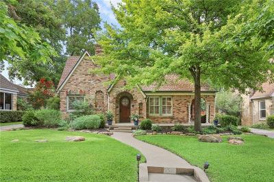 Single Family Home For Sale: 5515 McCommas Boulevard