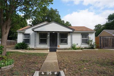 Single Family Home For Sale: 125 W Avenue E