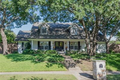 Richardson Single Family Home Active Contingent: 2504 Custer Parkway