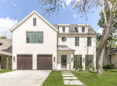 Dallas Single Family Home For Sale: 5511 W Hanover Avenue