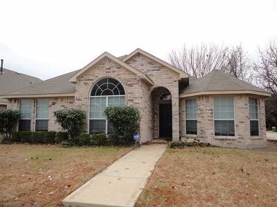 Rowlett Residential Lease For Lease: 9802 Cypress Cove