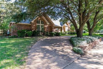 Grapevine Single Family Home Active Option Contract: 3038 Creekview Drive
