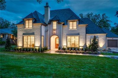 Dallas County Single Family Home For Sale: 7175 Greentree Lane