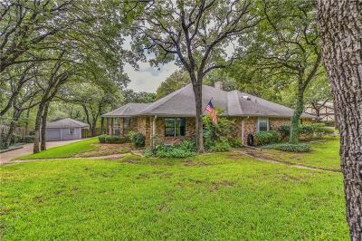 Mansfield Single Family Home Active Option Contract: 18006 Fox Hollow Drive