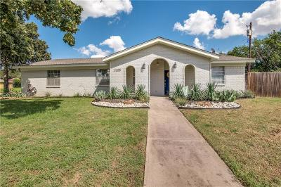 Bedford Single Family Home Active Contingent: 2208 Shady Brook Drive