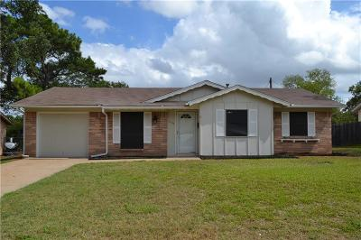 Euless Single Family Home For Sale: 1104 Crane Drive