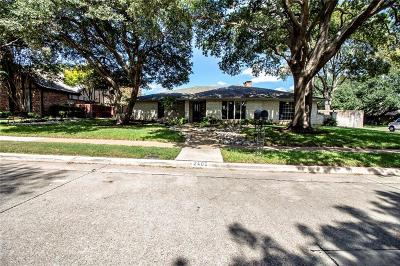 Plano Single Family Home Active Option Contract: 2405 Evans Drive