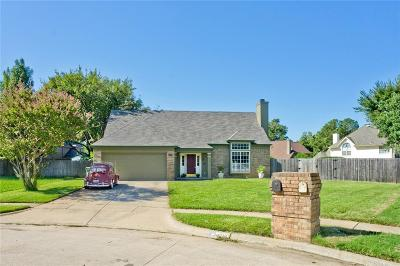 Grapevine Single Family Home Active Option Contract: 4718 Brenton Oaks Drive