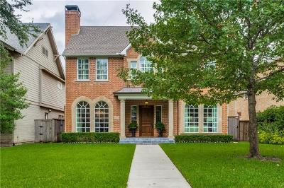 University Park Single Family Home For Sale: 4519 Shenandoah Street