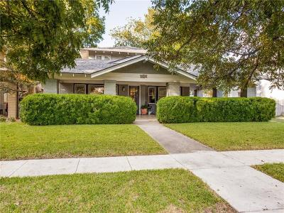 Fort Worth Single Family Home For Sale: 2306 Harrison Avenue