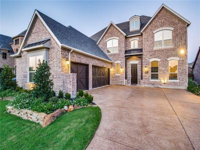 Frisco Single Family Home Active Contingent: 3550 Harvest Glen Drive