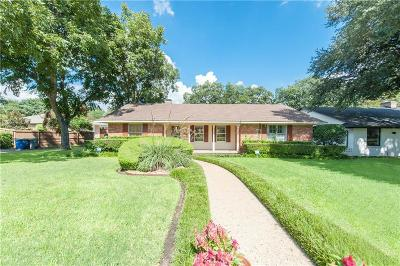 Dallas County Single Family Home For Sale: 6910 Rockview Lane