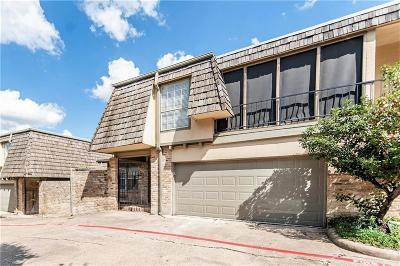 Dallas Townhouse For Sale: 8560 Park Lane #75