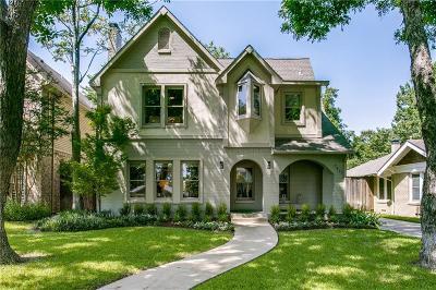 Dallas Single Family Home Active Contingent: 5823 Marquita Avenue