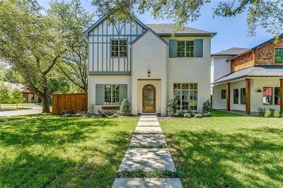 Fort Worth Single Family Home For Sale: 2724 Waits Avenue