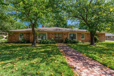 Sherman Single Family Home For Sale: 1634 Crescent Drive