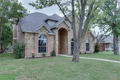 Rowlett Single Family Home For Sale: 8014 Lake Bend Drive