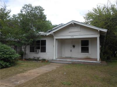 Eastland Single Family Home For Sale: 608 S Seaman Street