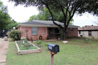 Single Family Home For Sale: 4005 Tejas Trail