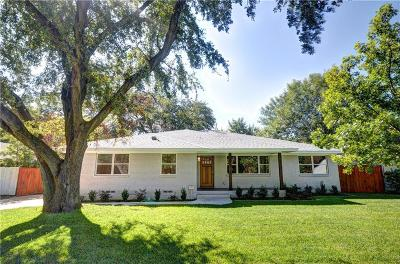 Single Family Home For Sale: 3306 Regent Drive