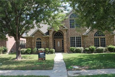 Mesquite Single Family Home Active Contingent: 2328 Amesbury Drive
