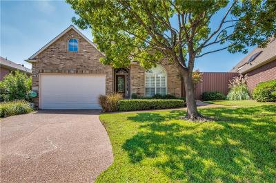 Irving Single Family Home Active Option Contract: 7609 Lakecrest Circle