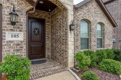 Lewisville Single Family Home For Sale: 105 Chelsea Court