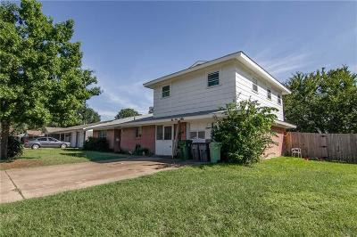 Hurst Single Family Home Active Option Contract: 441 Crestwood Terrace