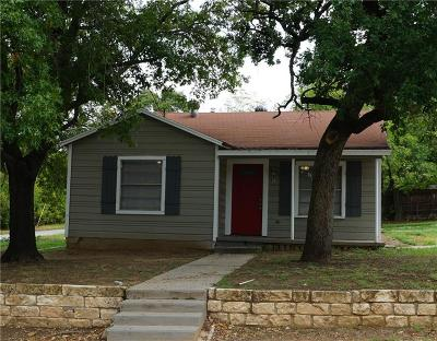 Parker County Single Family Home For Sale: 801 W Water Street