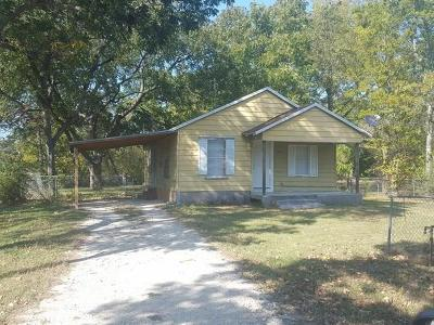Kerens Single Family Home Active Option Contract: 616 5th Street