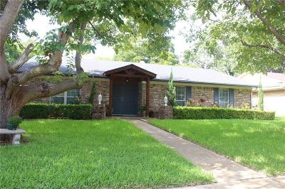 Mesquite Single Family Home Active Option Contract: 2313 Anders Drive