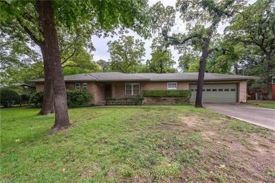 Denton Single Family Home Active Option Contract: 1208 Clover Lane
