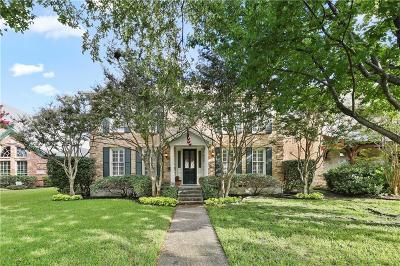 Dallas County Single Family Home For Sale: 3028 Rosedale Avenue