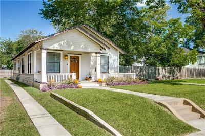 Dallas Single Family Home For Sale: 912 Moreland Avenue