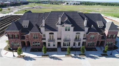 Frisco Townhouse For Sale: 8522 Church Street
