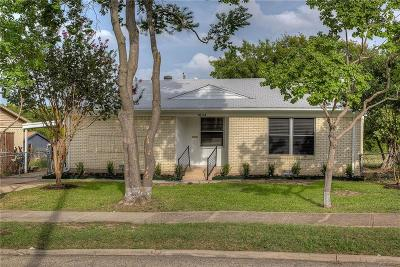 Mesquite Single Family Home Active Option Contract: 1804 Spring Lake Drive
