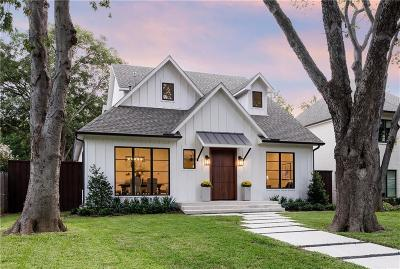 Dallas TX Single Family Home For Sale: $1,299,000