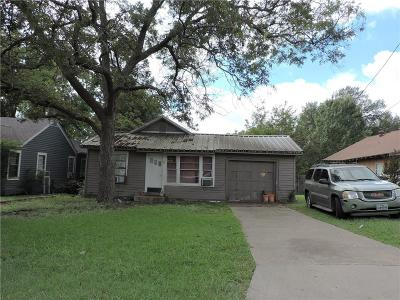 Single Family Home For Sale: 1106 S Gribble Street