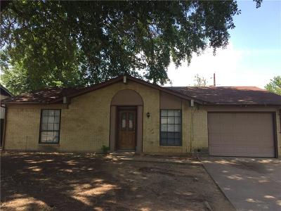 Irving Single Family Home Active Option Contract: 2517 Catalina Way