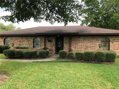 Terrell Single Family Home For Sale: 502 Goss