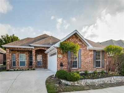 McKinney Single Family Home Active Option Contract: 8013 Indian Palms Trail