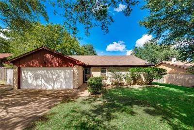 Benbrook Single Family Home Active Option Contract: 1209 Augusta Road