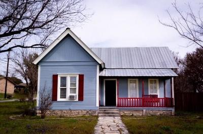 Hico Single Family Home For Sale: 413 NE Pecan