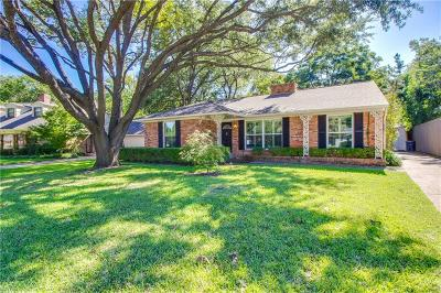 Dallas Single Family Home For Sale: 6436 Dunstan Lane