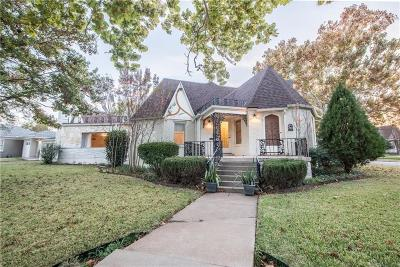 Fort Worth Single Family Home For Sale: 3412 Worth Hills Drive